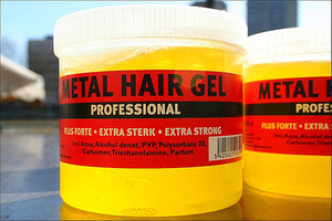 Metal Hair Gel